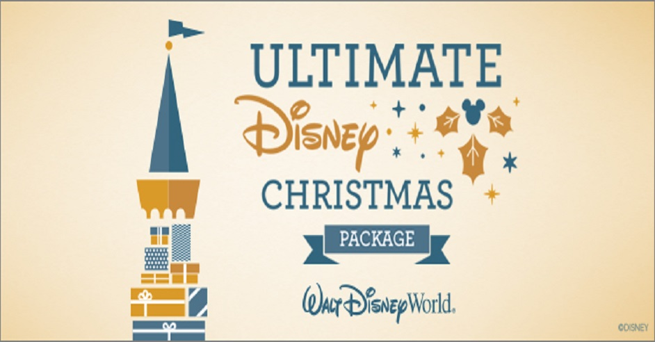 Wrap up the Ultimate Disney Christmas Package and Exclusive Experiences at Walt Disney World